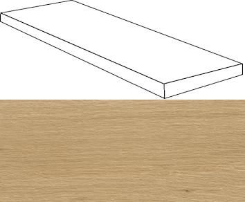 Verity Natural Scalino Angolare SX 33x120