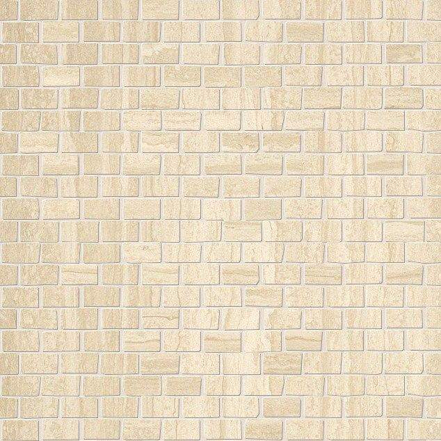 FAP Ceramiche fMAG Roma Travertino Brick Mosaico 30*30